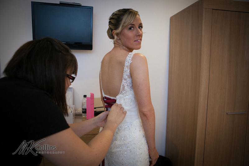 Ocean Kave wedding, bridal preparations