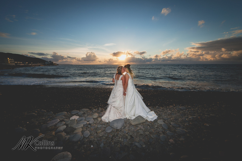 Same sex wedding at Ocean Kave, Gay wedding in North Devon