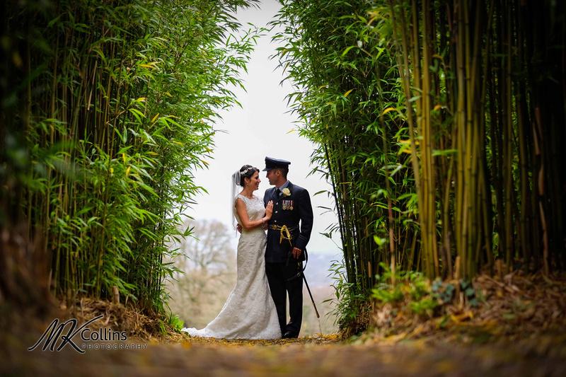 Wedding at Hallsannery, North Devon Bride and Groom portrait