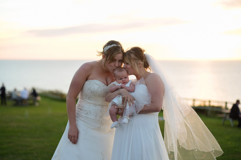 Ocean Kave wedding. Same sex wedding in Devon