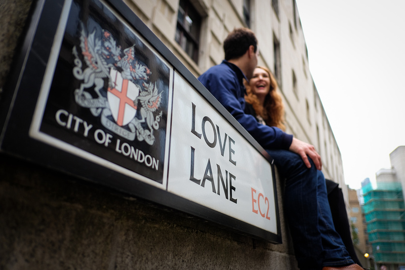 Pre Wed shoot London Love Lane