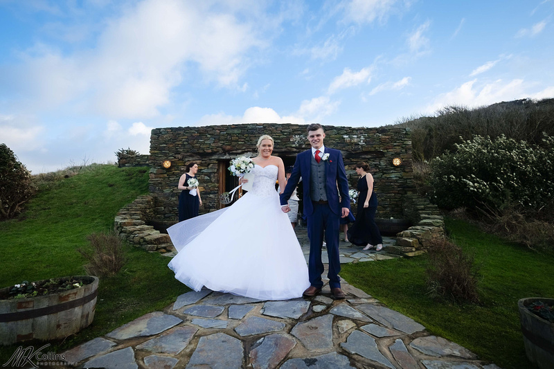 Ocean Kave , North Devon wedding