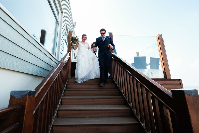 Pier House wedding