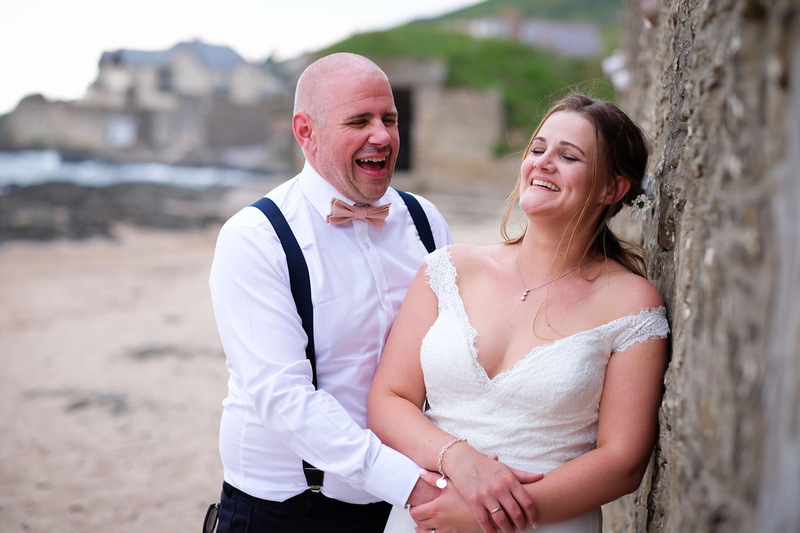 North Devon wedding at Croyde Beach