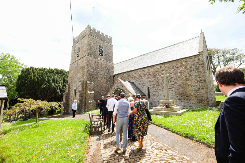 Old Barn wedding North Devon