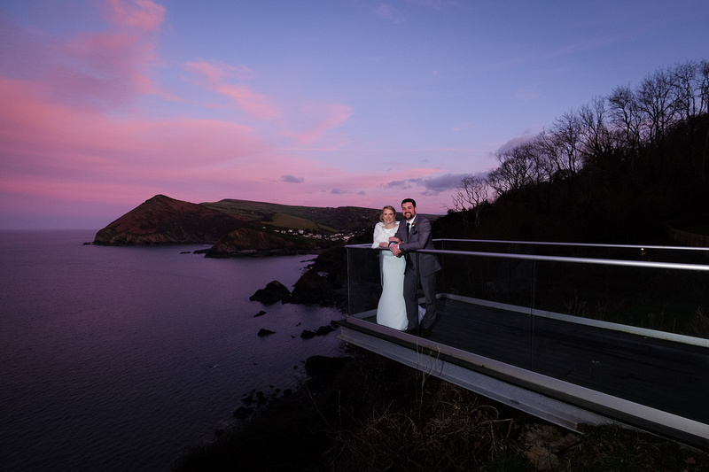 wedding at The Venue at Sandy Cove