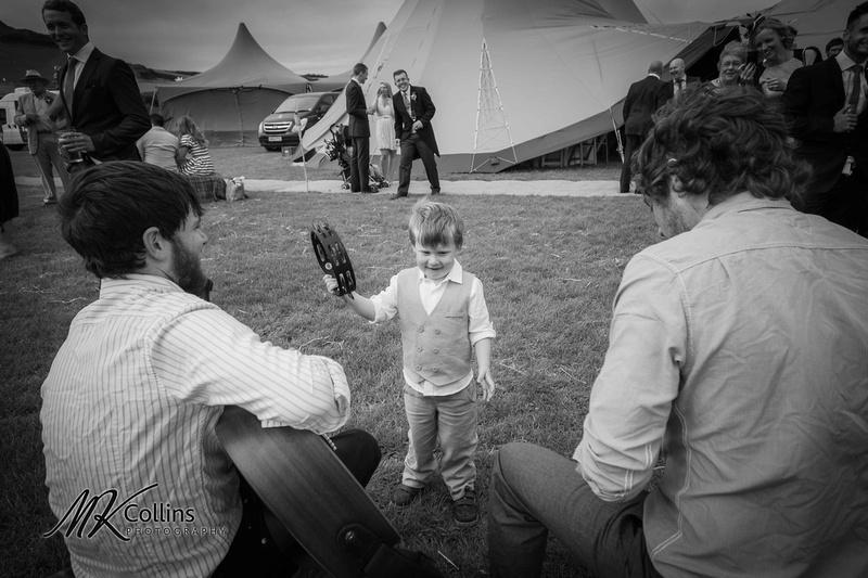 Little Boy at wedding