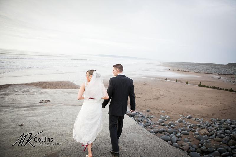 Ocean Kave wedding, westward Ho! beach
