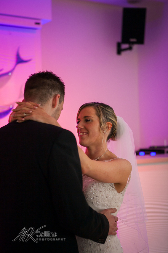 Ocean Kave wedding, first dance