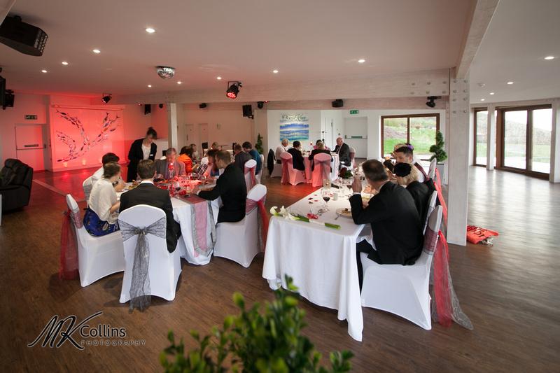 Ocean Kave wedding, Sunset room interior