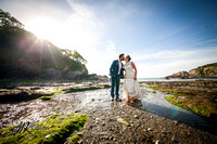 Catherine & James wedding at Sandy Cove
