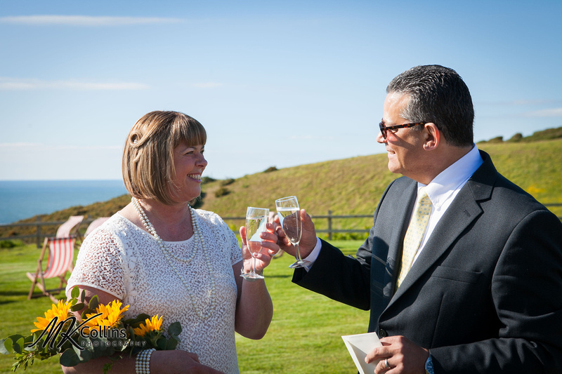 Wedding at Ocean Kave, Westward Ho!