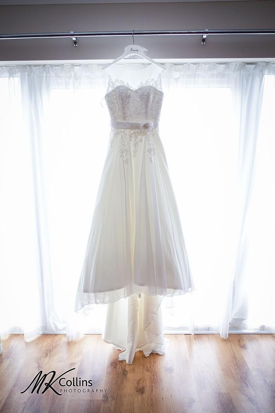 Ocean Kave wedding, bridal prep Wedding dress