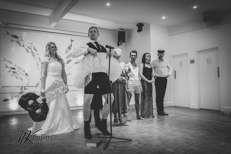 Wedding at Ocean Kave North Devon