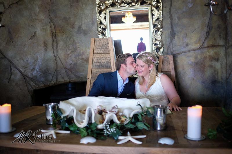 small wedding at Ocean Kave