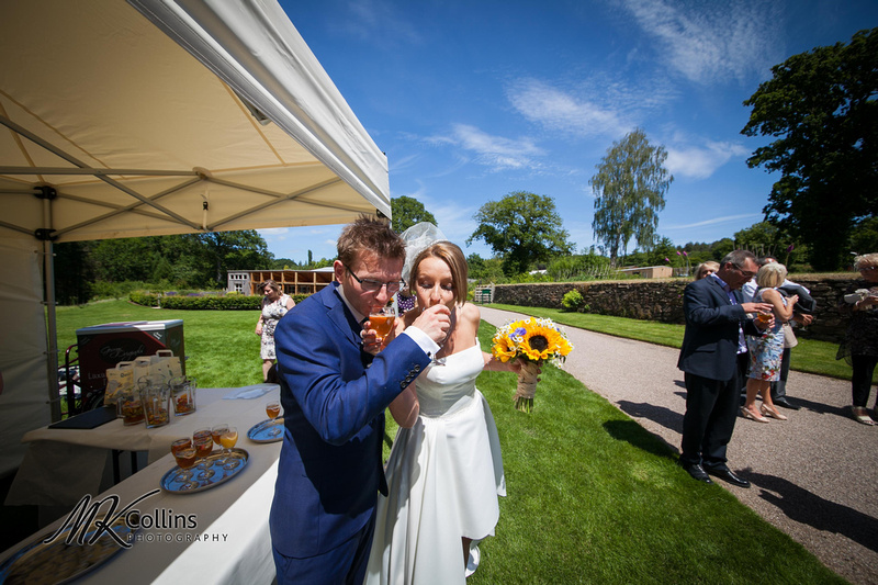RHS Rosemoor wedding
