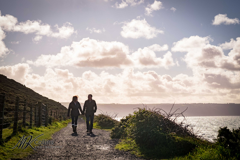 North Devon pre wedding shoot, Westward Ho!