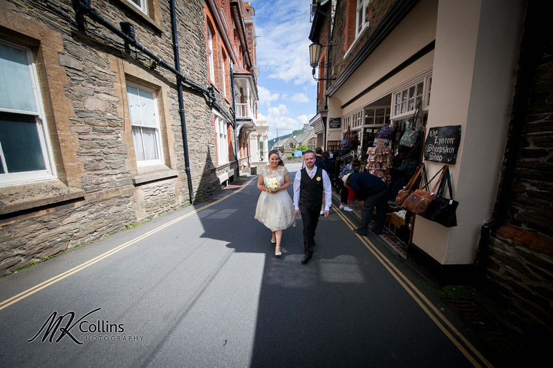 Wedding in Lynton North Devon