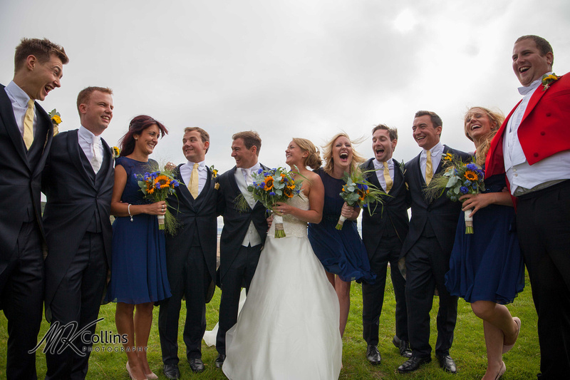 Croyde beach wedding