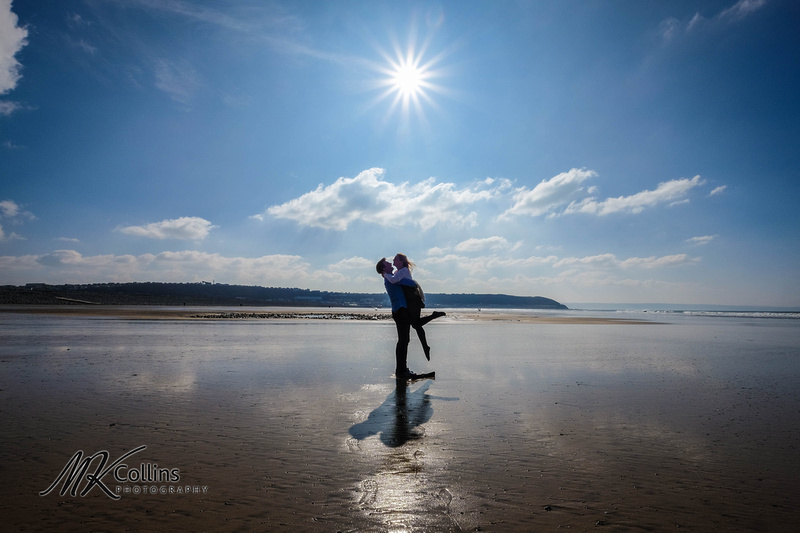Pre wedding shoot Westward Ho! beach