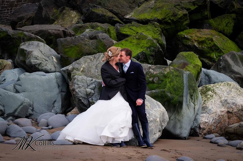 wedding at Ocean Kave, Westward Ho!