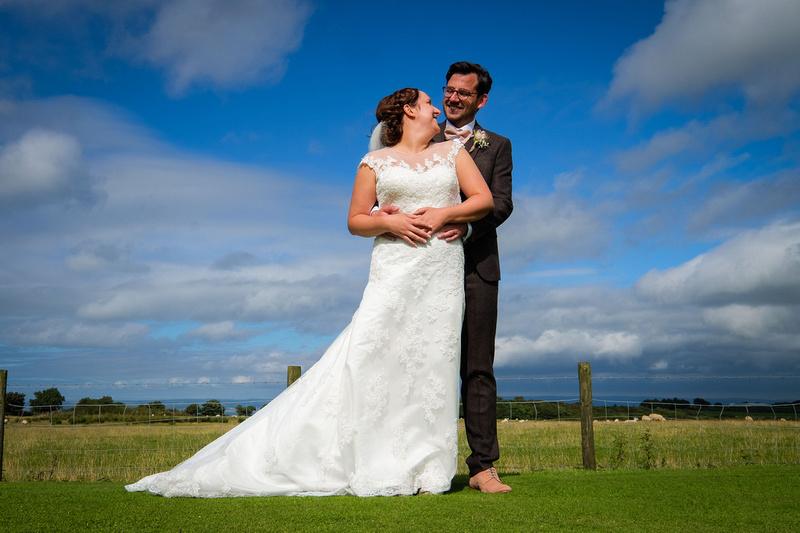 The Old Barn wedding in North Devon