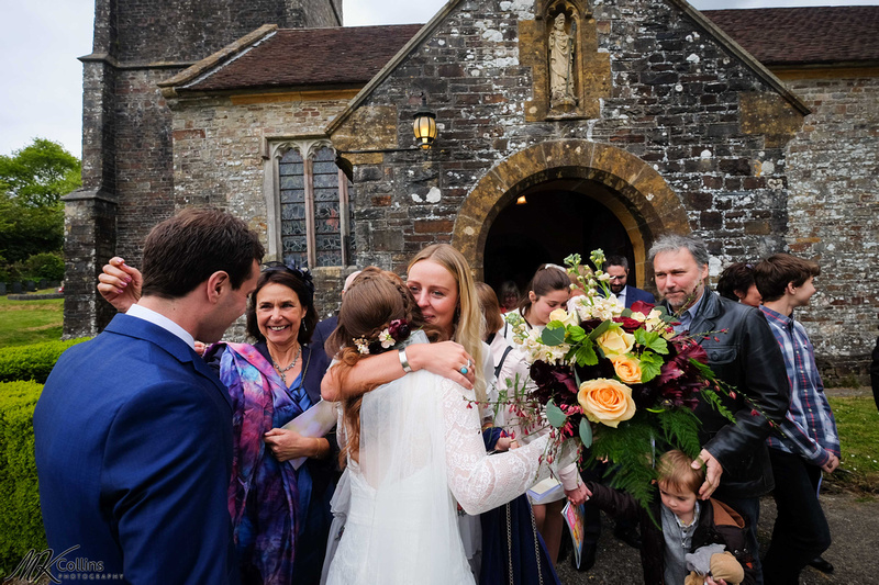 wedding at the Old Barn North Devon