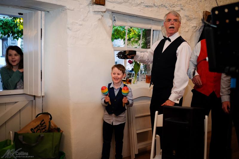wedding at the Old Barn North Devon