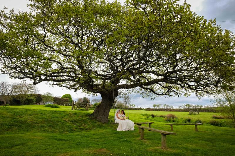 Gay wedding in North Devon
