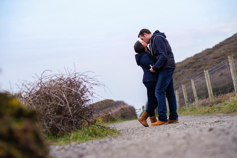 North Devon pre wedding shoots