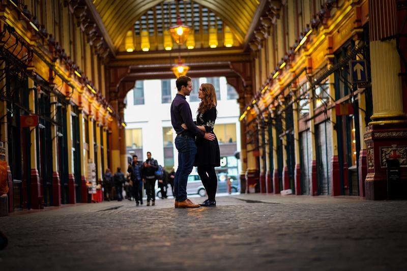 Pre Wed shoot London Love Lane