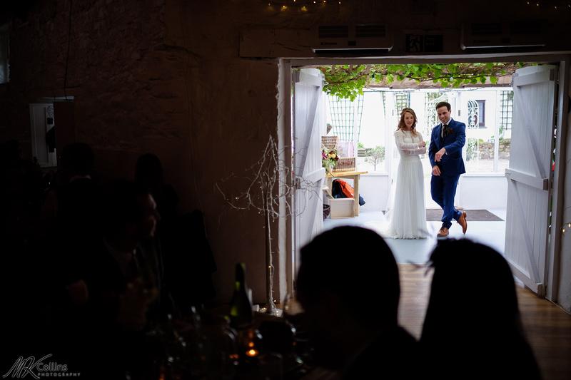 wedding at the Old Barn in North Devon