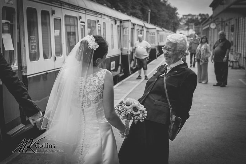Lucy & David, Steam Train & Riverboat Wedding at Kingswear & Dartmouth