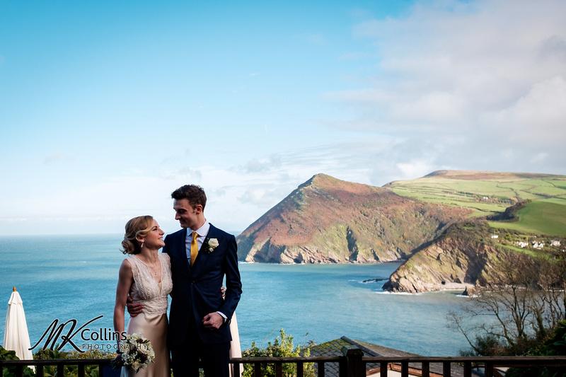 Wedding at Sandy Cove, Devon