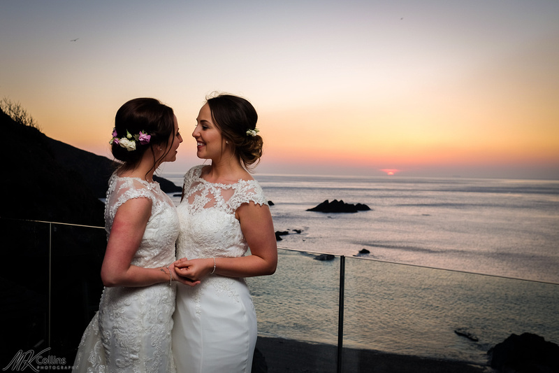 Same sex wedding in North Devon