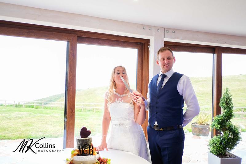 Wedding at Ocean Kave North Devon